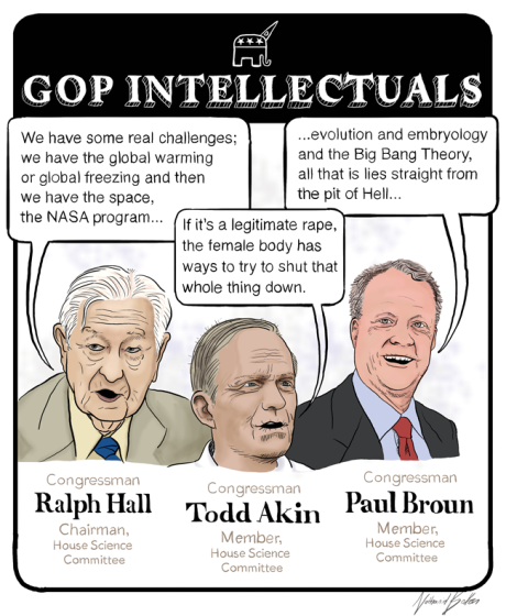 The anti-science House Science Committee